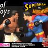 Superman versus Muhammad Ali Statue